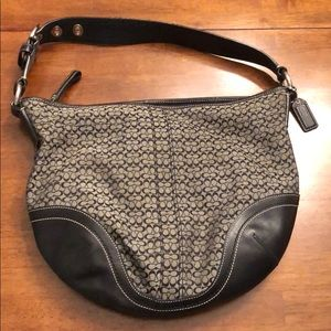 Black and Gray Coach purse!
